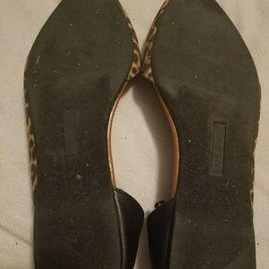 Lane Bryant Shoes - Lane Bryant leopard flats